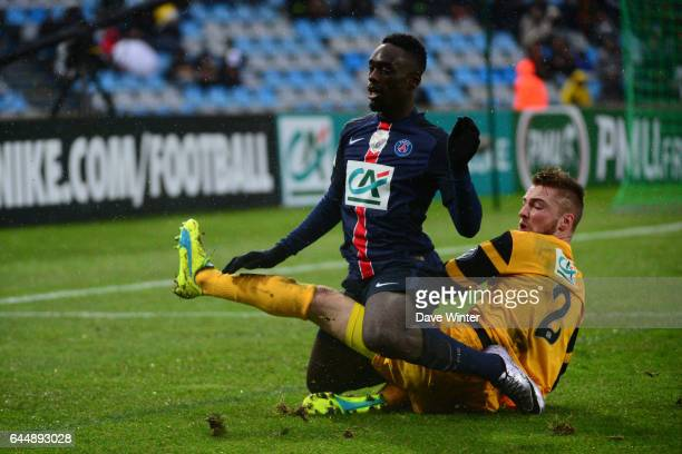 Jean Kevin AUGUSTIN / Pierre PLANQUE Wasquehal / PSG 32es Coupe de France Photo Dave Winter / Icon Sport