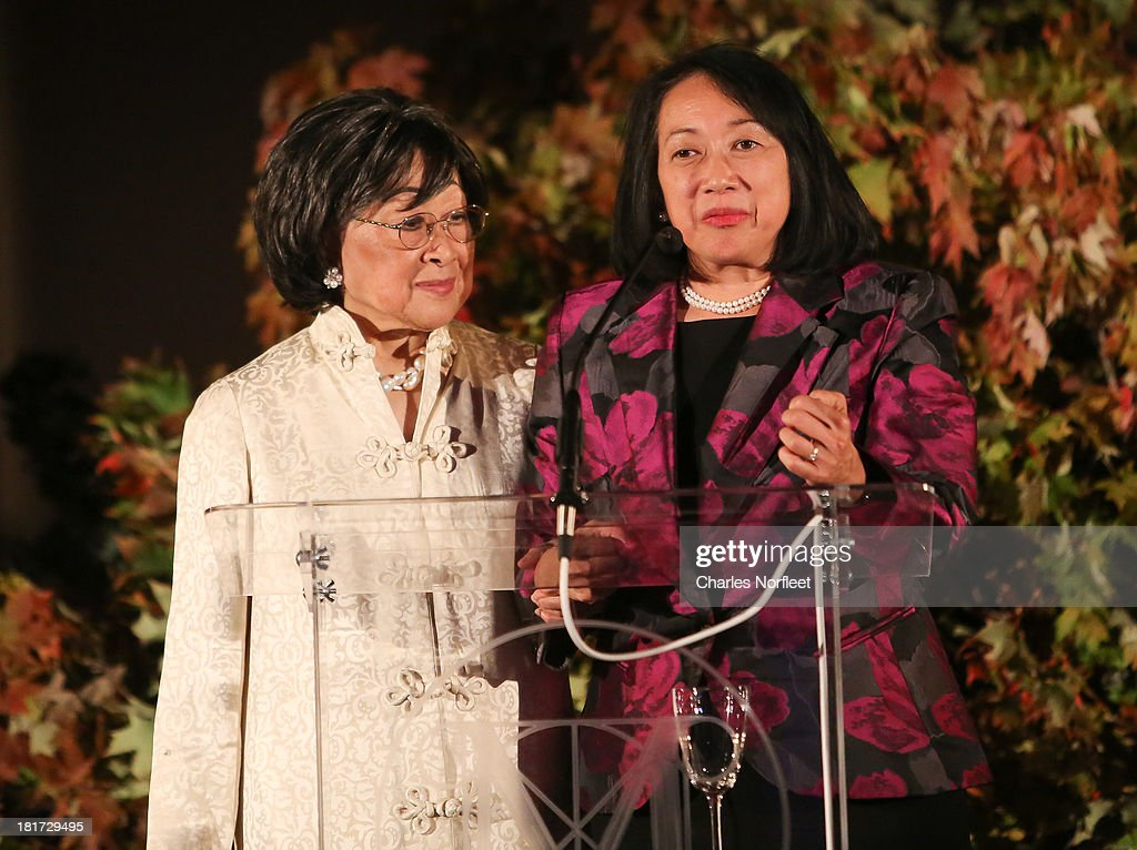 Jean Lam (L) and Eva Lerner-Lam attend 2013 Multicultural Gala: An Evening Of Many Cultures at Metropolitan Museum of Art on September 23, 2013 in New York City.
