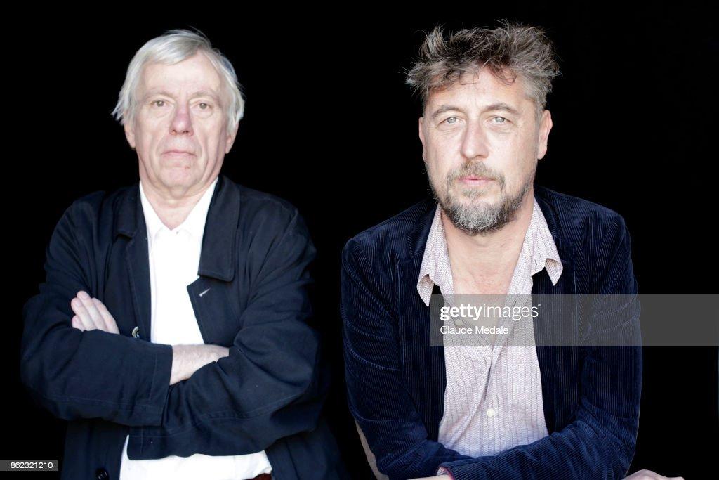 Jean Libon and Yves Hinant Portrait Session - 65th San Sebastian Film Festival