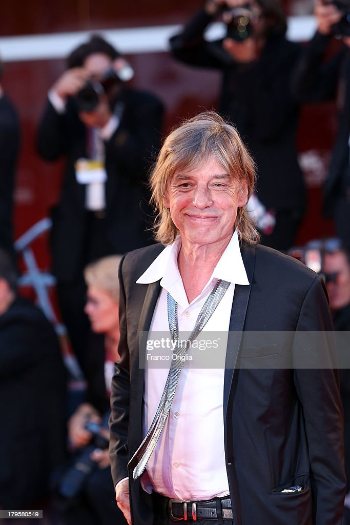 Jean Louis Aubert attends the 'Jealousy' Premiere during the 70th Venice International Film Festival at the Palazzo del Cinema on September 5, 2013 in Venice, Italy.