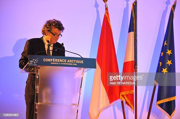 Jean Louis Borloo at the conference unfolding under the chairmanship of current European Union President France gathers countries of the 27nation EU...
