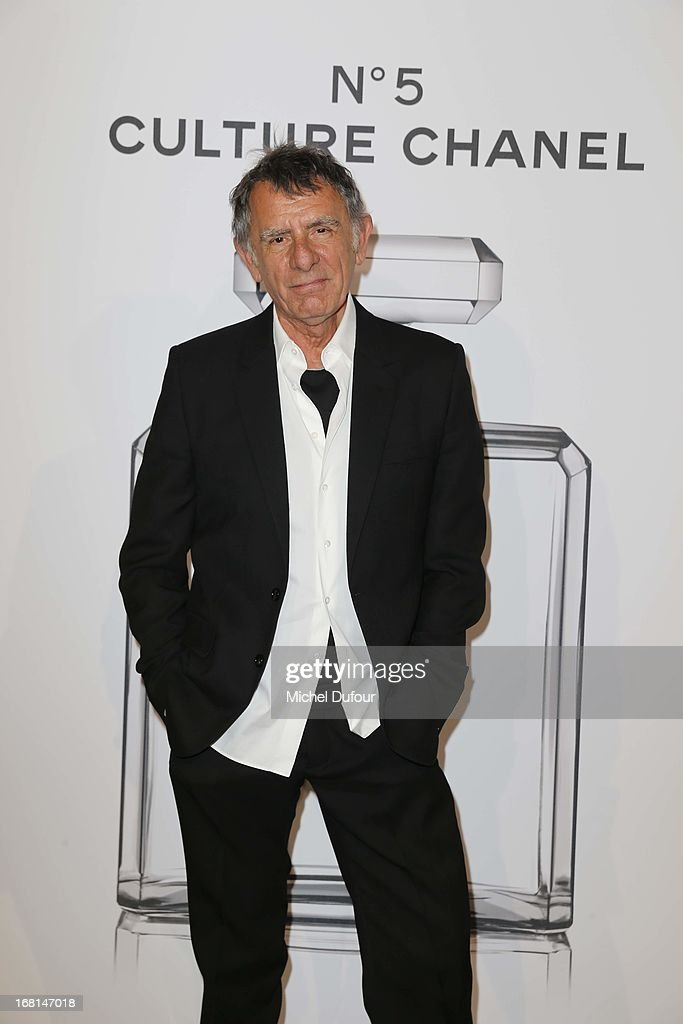 Jean louis Froment attends the 'No5 Culture Chanel' Exhibition - Photocall at Palais De Tokyo on May 3, 2013 in Paris, France.