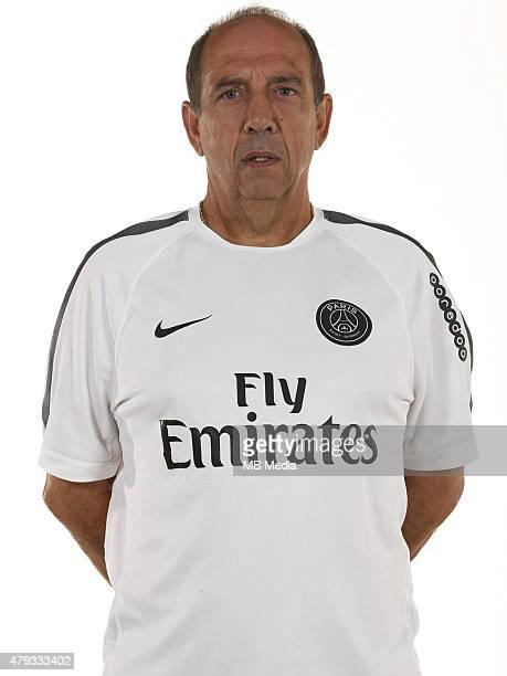 Jean Louis GASSET Portrait Officiel Paris Saint Germain Photo Gavelle / PSG / Icon Sport/MB Media