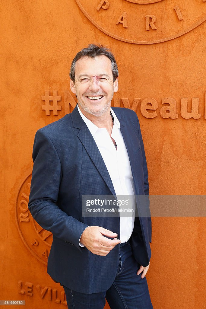 Jean Luc Reichmann attends the French Tennis Open Day 6 at Roland Garros on May 27, 2016 in Paris, France.