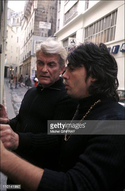 Jean Marais and his adopted son in France in October 1997