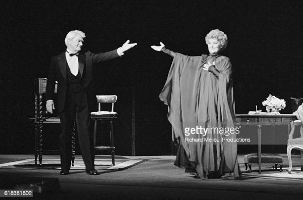 Jean Marais and Jean Marais star in a production of Dear Liar in Lyons France The play presented under the title of Cher Menteur was written by...