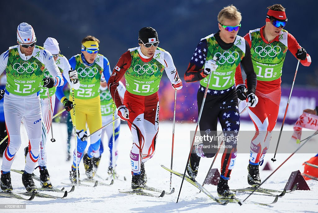 Jean Marc Gaillard of France Oleksii Krasovskyi of Ukraine Yuichi Onda of Japan Erik Bjornsen of the United States and Maciej Starega of Poland...