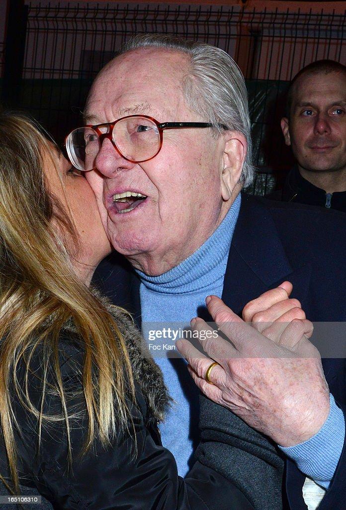 Jean Marie Le Pen attends 'Les Toiles Enchantees' Children Care Association Auction Dinner during The 50th Foire du Trone at Pelouse de Reuilly on March 29, 2013 in Paris, France.