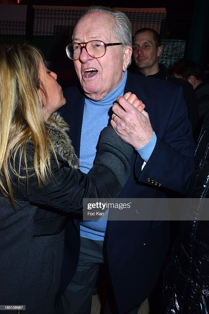 Jean Marie Le Pen attends 'Les Toiles Enchantees' Children Care Association Auction Dinner During The 50th Foire du Trone at Pelouse de Reuilly on March 29, 2013 in Paris, France.