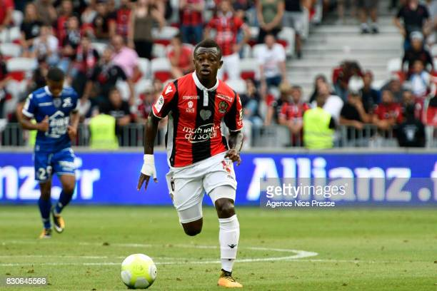 Jean Michael Seri of Nice during the Ligue 1 match between OGC Nice and Troyes Estac at Allianz Riviera on August 11 2017 in Nice