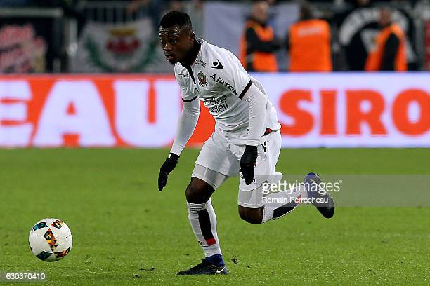 Jean Michael Seri of Nice in action during the french Ligue 1 match between Bordeaux and Nice at Stade Matmut Atlantique on December 21 2016 in...