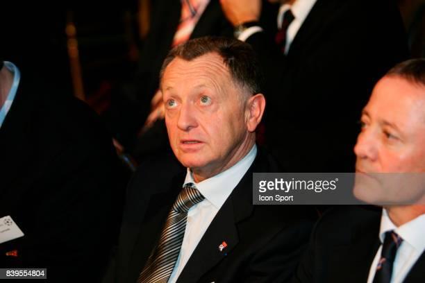 Jean Michel AULAS Tirage au sort de la Champions League Mairie de Paris
