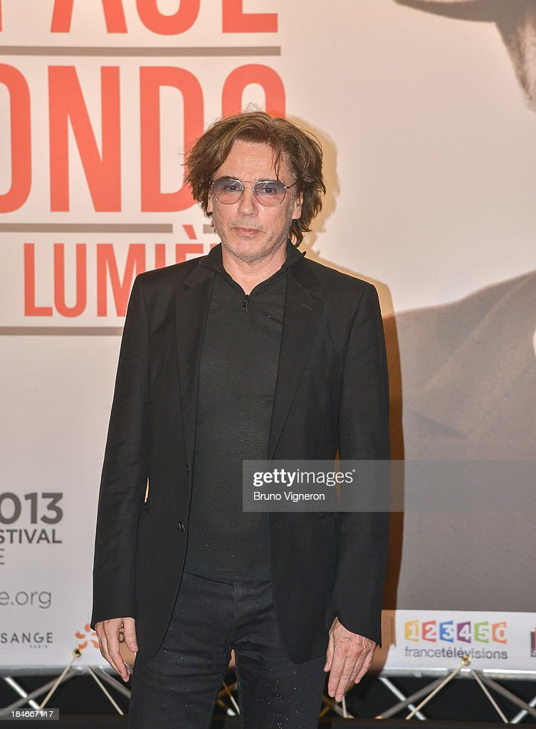 Jean Michel Jarre attends the 5th Lyon Film Festival on October 14, 2013 in Lyon, France.