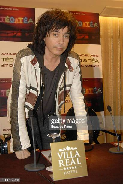 Jean Michel Jarre during Jean Michel Jarre Launches His New Album 'TeoTea' in Madrid March 20 2007 in Madrid Madrid Spain