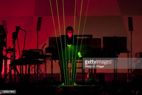 jean michel jarre stock fotos und bilder getty images. Black Bedroom Furniture Sets. Home Design Ideas