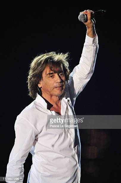 Jean Michel Jarre performs onstage during a concert celebrating the Royal Wedding of Prince Albert II of Monaco to Princess Charlene of Monaco at the...