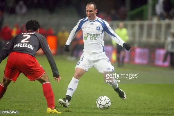 Jean Michel LESAGE Auxerre / PSG 17 eme journee de Ligue 1