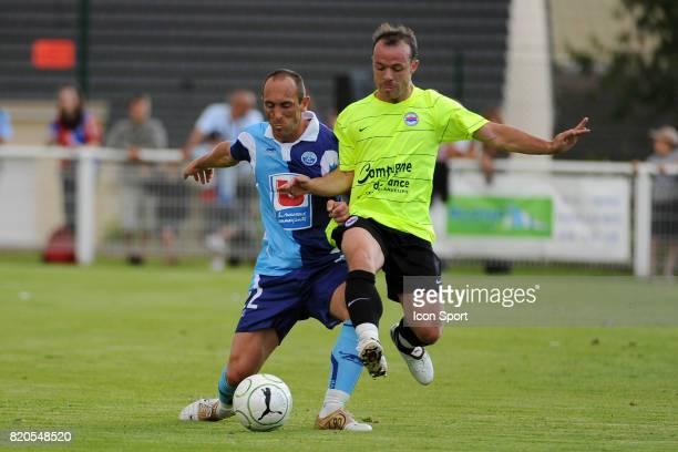 Jean Michel LESAGE Match Amical Le Havre / Caen Ligue2 Fauville en Caux