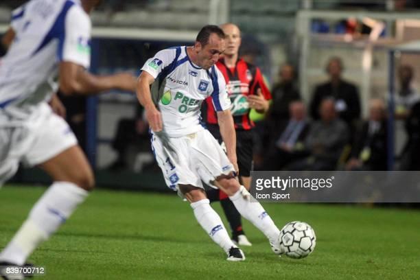 Jean Michel LESAGE Auxerre / Nice 8eme journee de Ligue 1