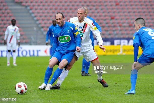 Jean Michel LESAGE / Didier DIGARD Creteil / Nice 1/32eme de Finale de la Coupe de France
