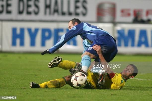 Jean Michel LESAGE / Frederic DA ROCHA Le Havre / Nantes 16 eme journee de Ligue 1