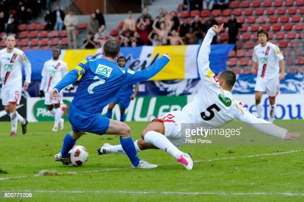 Jean Michel LESAGE / Gregory PAISLEY Creteil / Nice 1/32eme de Finale de la Coupe de France