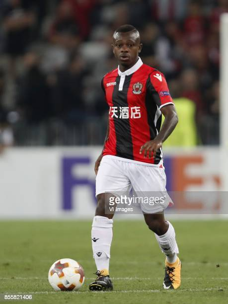 Jean Michel Seri of OCG Nice during the UEFA Europa League group K match match between OGC Nice and Vitesse Arnhem on September 28 2017 at the...