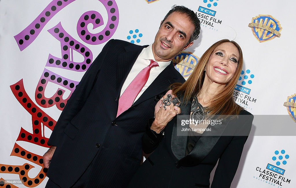 Jean Michel Simonian and <a gi-track='captionPersonalityLinkClicked' href=/galleries/search?phrase=Marisa+Berenson&family=editorial&specificpeople=206844 ng-click='$event.stopPropagation()'>Marisa Berenson</a> attends 'Cabaret' 40th Anniversary New York Screening at Ziegfeld Theatre on January 31, 2013 in New York City.