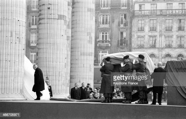 Jean Moulin's Ashes In The Pantheon on December 191964