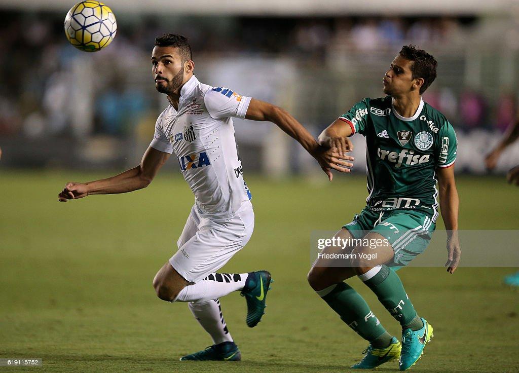 Santos v Palmeiras - Brasileirao Series A 2016