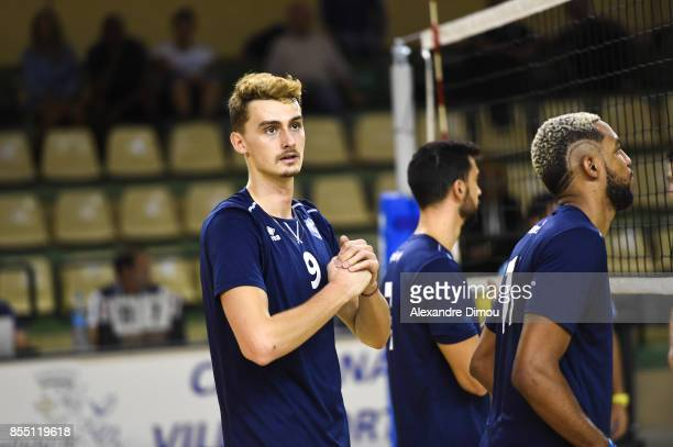 Jean Patry of Montpellier during the Volleyball friendly match on September 22 2017 in Montpellier France