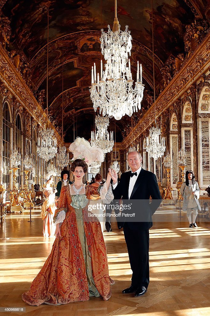 Jean Paul Agon, president of L'Oreal group attends the L'Oreal Gala Evening 2014 at Chateau de Versailles on June 20, 2014 in Versailles, France.