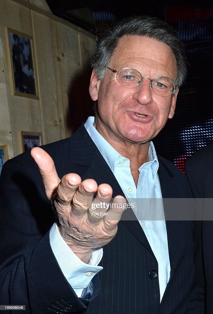 Jean Paul Baudecroux attends the Cherie 25 NRJ Party at VIP Room Theatre on January 15, 2013 in Paris, France.
