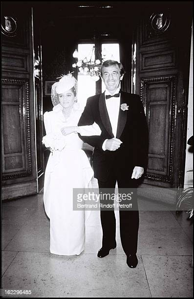 Jean Paul Belmondo marries his daughter Patricia