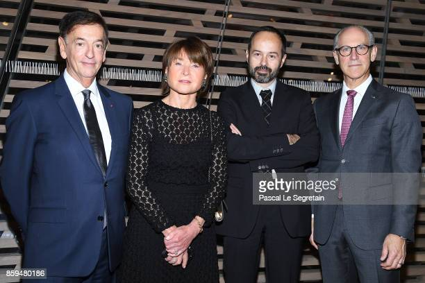 Jean Paul Claverie Suzanne Page Quentin Bajac and American art historian and director of the Museum of Modern Art in New York City Glenn D Lowry...