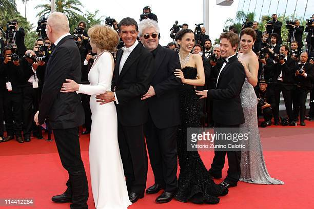 Jean Paul Gaultier actress Marisa Paredes actor Antonio Banderas director Pedro Almodovar actress Elena Anaya actor Jan Cornet and Blanca Suarez...