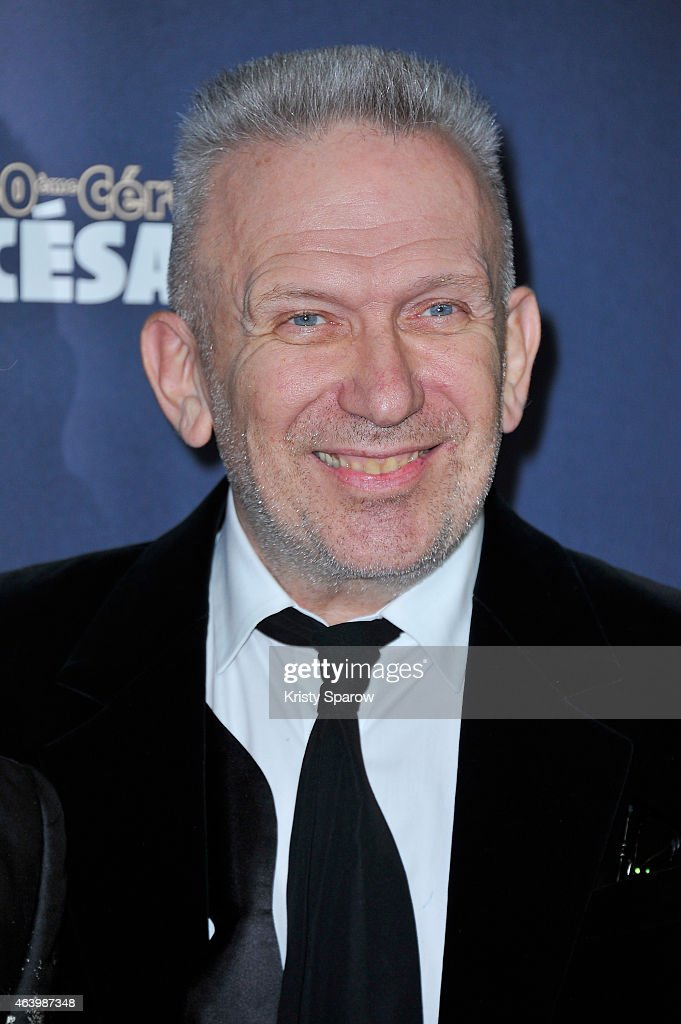 Jean Paul Gaultier attends the 40th Cesar Film Awards at Theatre du Chatelet on February 20, 2015 in Paris, France.