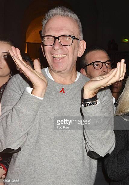 Jean Paul Gaultier attends the Maison Jean Paul Gaultier Hosts 'Le Projet ICCARRE Association' Against AIDS at 325 Rue Saint Martin on December 1...