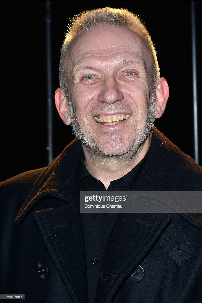 Jean Paul Gaultier attends the Saint Laurent show as part of the Paris Fashion Week Womenswear Fall/Winter 2014-2015 on March 3, 2014 in Paris, France.