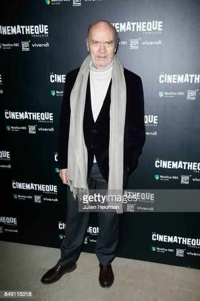 Jean Paul Rappeneau attends 'Happy End' Paris Premiere at la cinematheque on September 18 2017 in Paris France