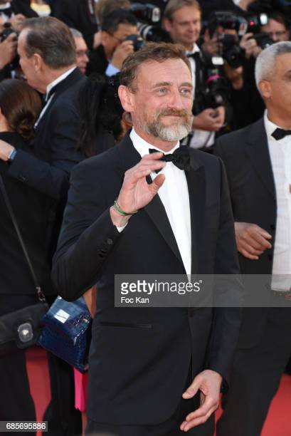 Jean Paul Rouve attends the 'Okja' Screening during the 70th annual Cannes Film Festival at Palais des Festivals on May 19 2017 in Cannes France