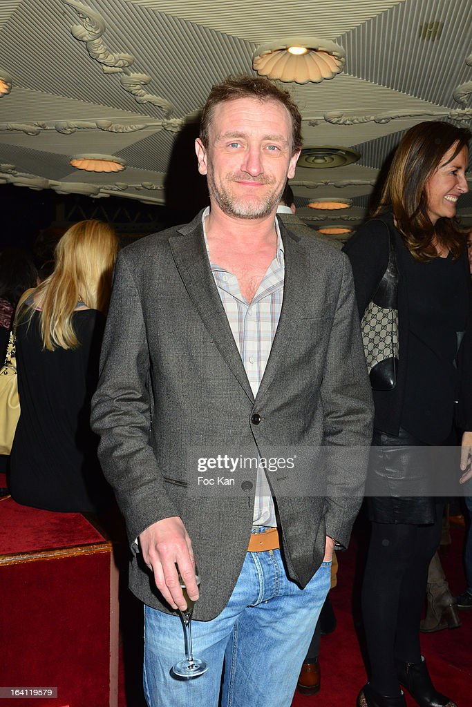 Jean Paul RouveÊattends the Sushi Shop's Box Endorsed By Kate Moss Launch At La Nouvelle Eve Cabaret on March19, 2013 in Paris, France.