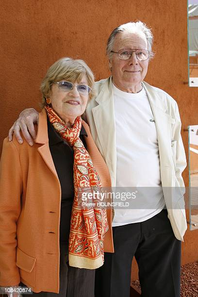 Jean Piat and Francoise Dorin in Paris France on May 30 2009