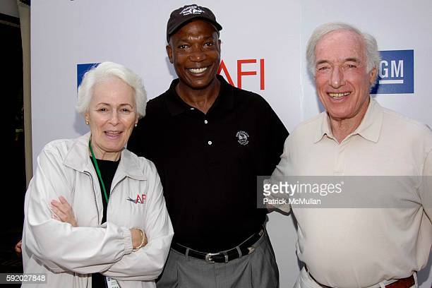 Jean Picker Firstenberg Michael Jackson and Bud Yorkin attend 8th Annual American Film Institute Golf Classic Presented By General Motors at Riviera...