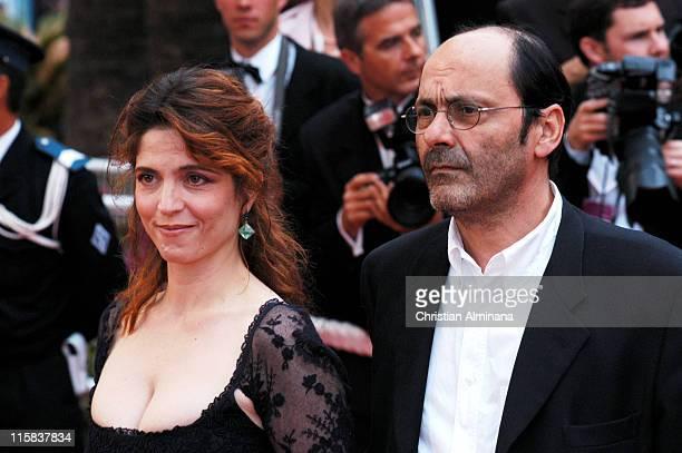 Jean Pierre Bacri and Agnes Jaoui during 2004 Cannes Film Festival 'De Lovely' Premiere
