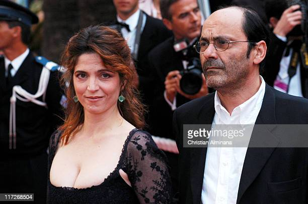Jean Pierre Bacri and Agnes Jaoui during 2004 Cannes Film Festival De Lovely Premiere