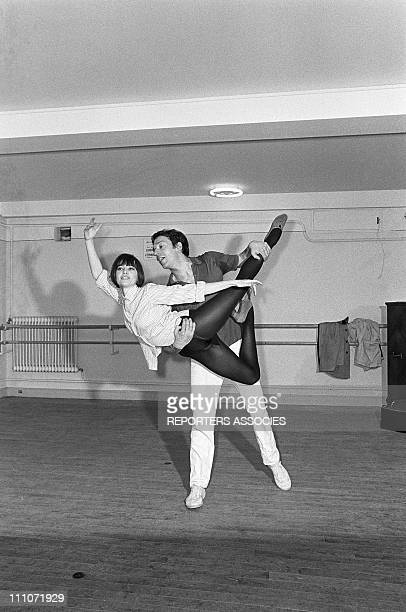 Jean Pierre Cassel and Leslie Caron in France on March 15 1966