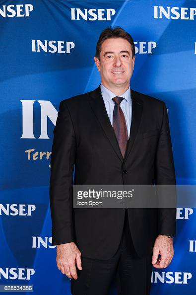 Jean Pierre de Vincenzi during the ceremony of Insep awards 2016 at INSEP on December 7 2016 in Vincennes France