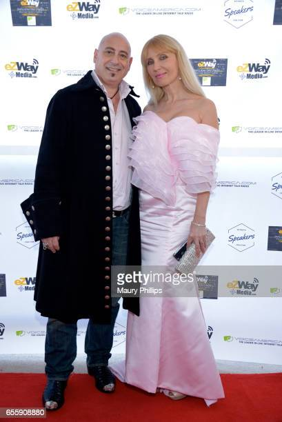 Jean Pierre M Joyce and Anjelika Kaufman Joyce arrive at the 1st Annual Influencers Unite Gala and Eric Zuley birthday celebration on March 18 2017...