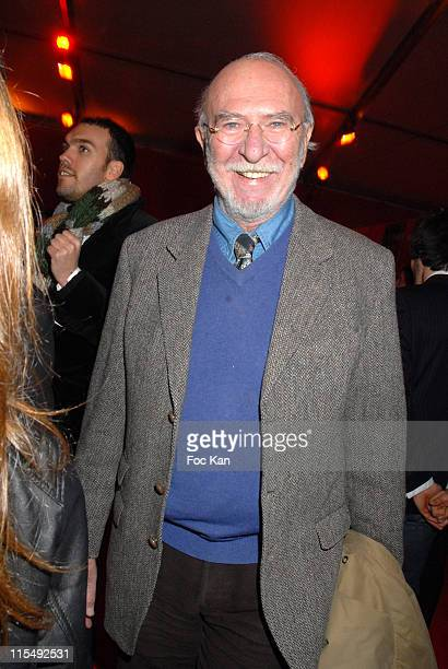 Jean Pierre Marielle attends Les Etoiles du Cirque de Pekin Show Hosted by the Cirque Phenix Pelouse de Reuilly on December 3 2007 in Paris France